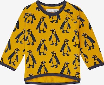 Sense Organics Sweatshirt 'ETU' in dunkelblau / senf, Produktansicht