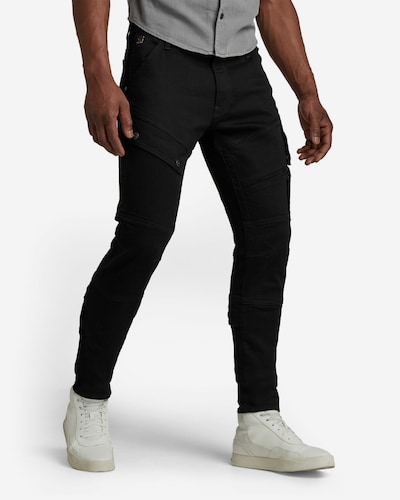 G-Star RAW Jeans 'Airblaze 3D' in de kleur Zwart, Modelweergave
