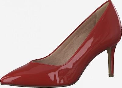 TAMARIS Čevlji s peto | rjasto rdeča barva, Prikaz izdelka