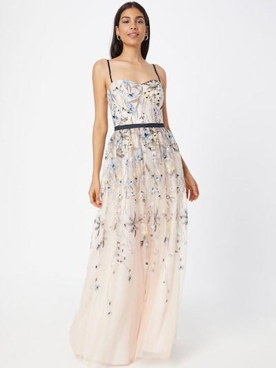 VM Vera Mont Kleid in nachtblau / opal / pastellgelb / lavendel / pastellpink, Modelansicht
