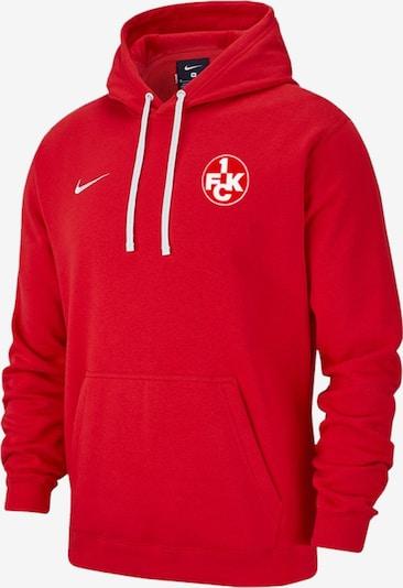1. FC Kaiserslautern Sweatshirt in rot / weiß, Produktansicht