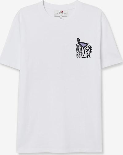 Vertere Berlin Shirt in de kleur Lila / Zwart / Wit, Productweergave