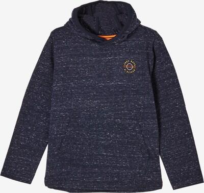 s.Oliver Shirt in dunkelblau / orange, Produktansicht