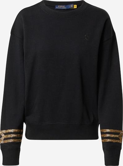 Polo Ralph Lauren Sweatshirt in Gold / Black, Item view