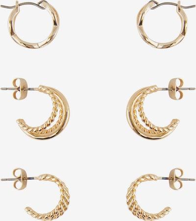 PIECES Boucles d'oreilles 'Nurdan' en or, Vue avec produit