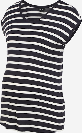 Only Maternity Shirt 'WILMA' in nachtblau / weiß, Produktansicht