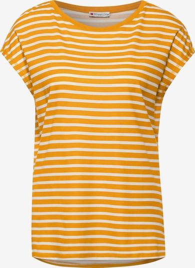 STREET ONE Shirt in de kleur Geel / Wit, Productweergave