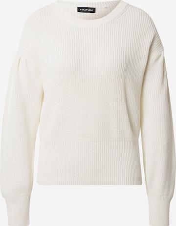 TAIFUN Pullover in Weiß