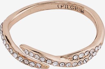 Pilgrim Bague 'Katherine' en or rose / transparent, Vue avec produit