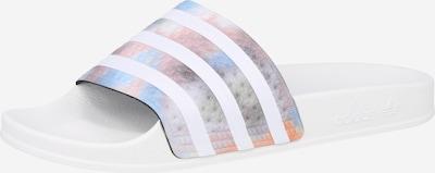 ADIDAS ORIGINALS Чехли в пъстро / бяло, Преглед на продукта