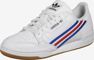 ADIDAS ORIGINALS Baskets basses 'Continental 80' en bleu / rouge / blanc, Vue avec produit