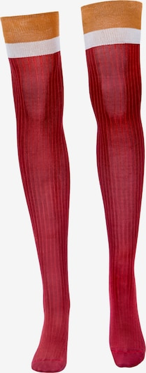 TOO HOT TO HIDE Overknee socks 'NANDA'S OVERKNEE' in Red, Item view