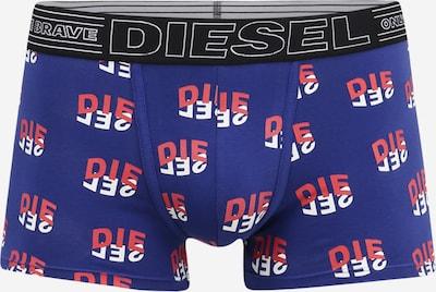 DIESEL Boxershorts 'UMBX-DAMIEN' in blau / hellrot / schwarz / weiß, Produktansicht