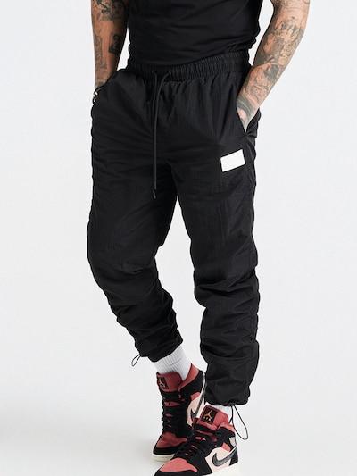 SikSilk Панталон в черно / бяло: Изглед отпред