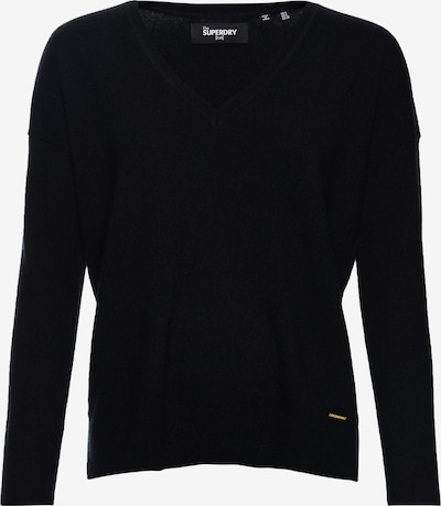 Superdry Pullover 'Edit Premium' in schwarz, Produktansicht