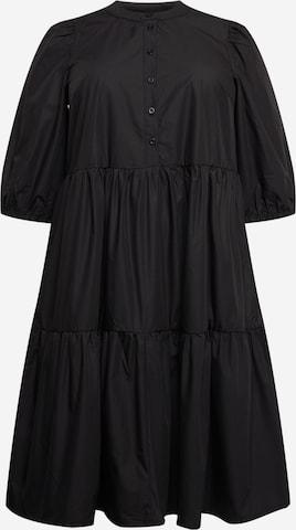 KAFFE CURVE Φόρεμα 'Malulu' σε μαύρο