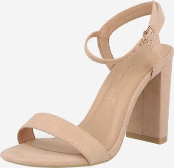 NEW LOOK Sandale in Beige