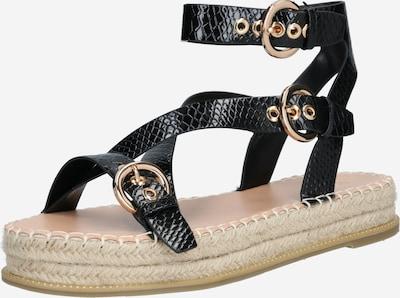 Raid Páskové sandály 'Koena' - písková / zlatá / černá, Produkt