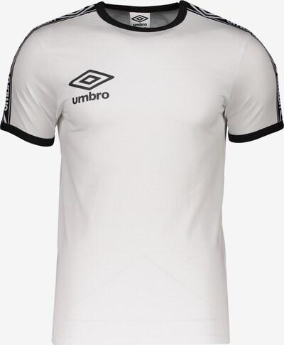 UMBRO Funktionsshirt in schwarz / weiß, Produktansicht