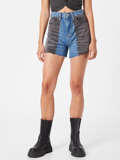 BDG Urban Outfitters Džínsy - modrá denim / čierny denim, Model/-ka