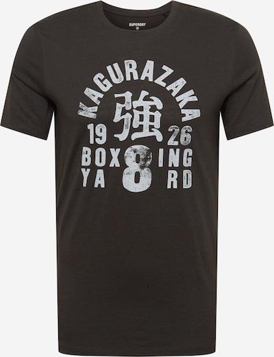 Superdry Functioneel shirt 'Boxing Yard' in de kleur Zwart / Wit, Productweergave