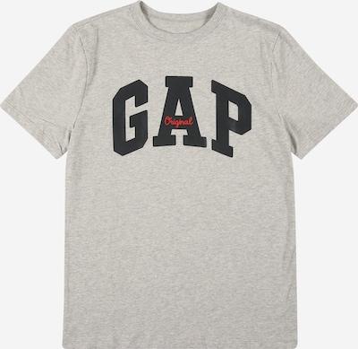 Tricou GAP pe gri amestecat / roșu / negru, Vizualizare produs
