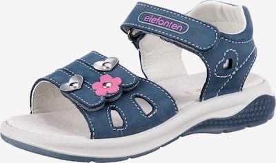 ELEFANTEN Sandale 'Funny' in taubenblau / pink / silber, Produktansicht