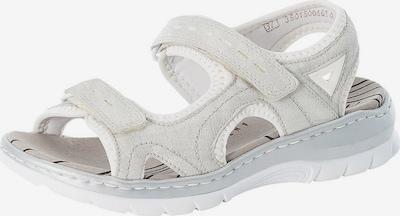 RIEKER Sandales de randonnée en blanc, Vue avec produit