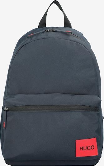 HUGO Rugzak 'Ethon ' in de kleur Donkerblauw / Rood, Productweergave