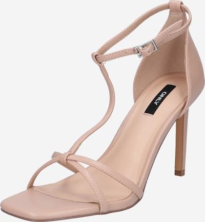 ONLY Sandalen met riem 'ALYX-5' in de kleur Rosa, Productweergave