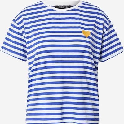 Trendyol T-Shirt in navy / senf / weiß, Produktansicht