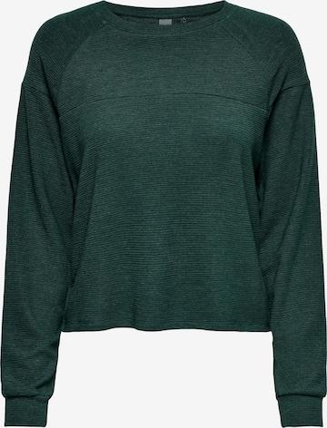 ONLY PLAY Athletic Sweatshirt 'Siggi' in Green