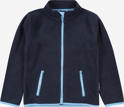 PLAYSHOES Fleecejacke in himmelblau / dunkelblau, Produktansicht