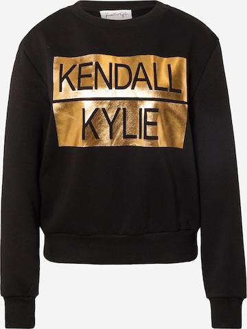 KENDALL + KYLIE Sweatshirt in Schwarz