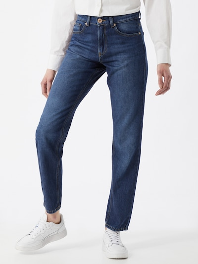 Yellow Blue Denim Jeans 'Marry' in blue denim, Modelansicht