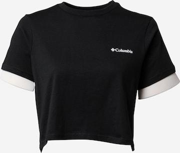 Tricou de la COLUMBIA pe negru