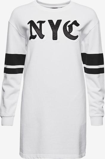 Superdry Robe en noir / blanc, Vue avec produit