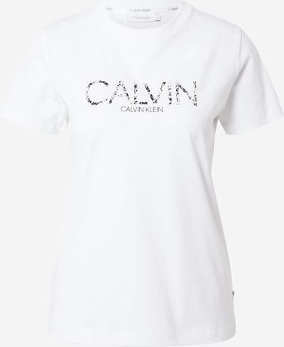 Maglietta Calvin Klein di colore nero / offwhite, Visualizzazione prodotti