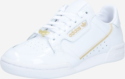 ADIDAS ORIGINALS Sneakers laag 'Continental' in de kleur Goud / Wit, Productweergave