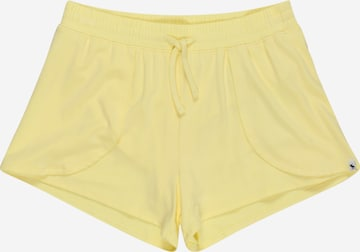 Abercrombie & Fitch Shorts in Gelb