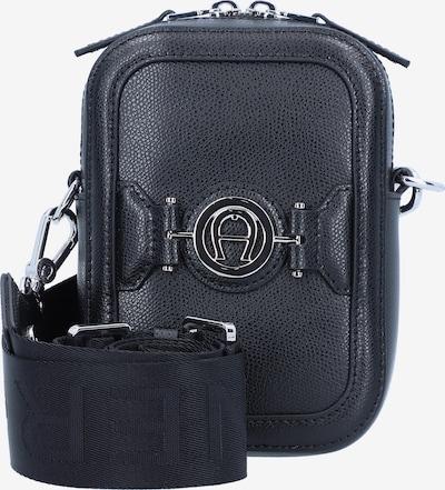 AIGNER Luana Handytasche Leder 13 cm in dunkelblau, Produktansicht