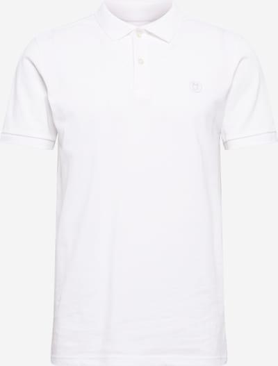 KnowledgeCotton Apparel Тениска 'ROWAN' в бяло, Преглед на продукта