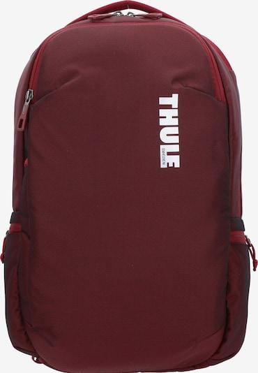 Thule Subterra 23L Rucksack mit Laptopfach in rot, Produktansicht