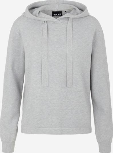PIECES Sweatshirt in hellgrau, Produktansicht
