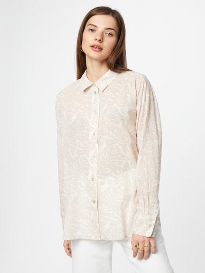 LIEBLINGSSTÜCK Bluse 'Elischa' in beige / weiß, Modelansicht