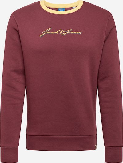 JACK & JONES Sweatshirt in bordeaux, Produktansicht