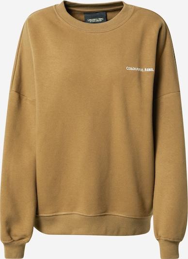 Colourful Rebel Sweatshirt in khaki, Produktansicht