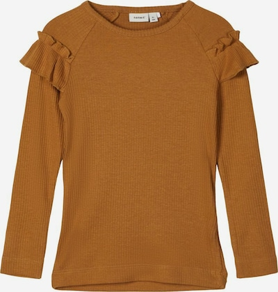 NAME IT Shirt in braun, Produktansicht