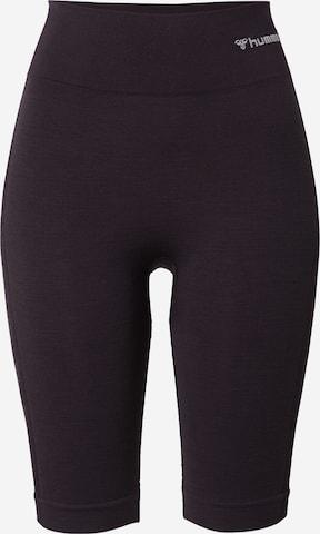 HummelSportske hlače - crna boja