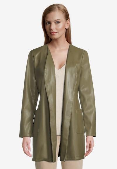 Betty & Co Manteaux d'été en vert, Vue avec modèle